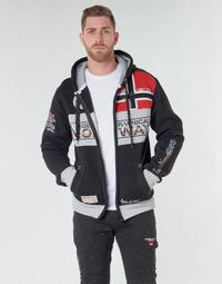 Oblečenie Muži Mikiny Geographical Norway FLYER Čierna