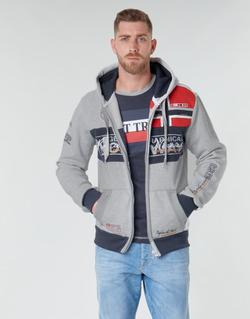 Oblečenie Muži Mikiny Geographical Norway FLYER Šedá / Frkaná