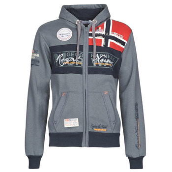 Oblečenie Muži Mikiny Geographical Norway FLYER Šedá