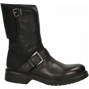 Topánky Ženy Čižmičky Emanuélle Vee TRONCHETTO PARACOLPI DIETRO COW ALDO black