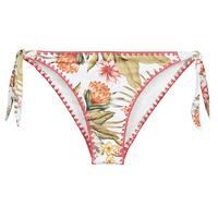 Oblečenie Ženy Plavky kombinovateľné Banana Moon DIMKA LAHAINA Biela / Oranžová