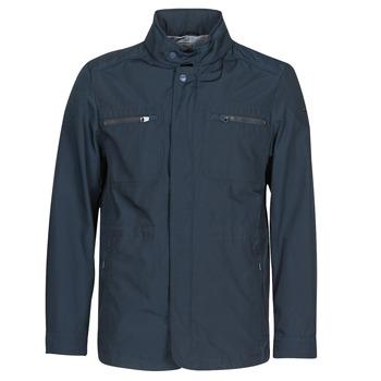 Oblečenie Muži Bundy  Geox RENNY FIELD JKT Námornícka modrá