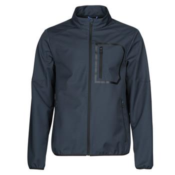 Oblečenie Muži Bundy  Geox OTTAYA JKT Námornícka modrá / Čierna