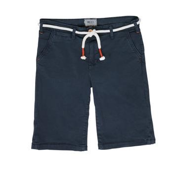 Oblečenie Chlapci Šortky a bermudy Deeluxe KARMA Námornícka modrá