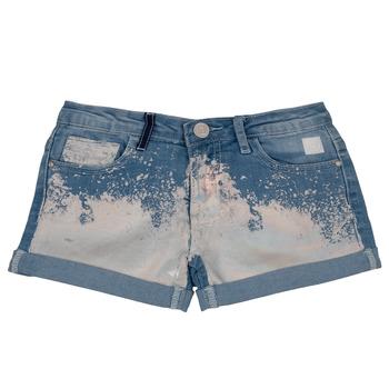 Oblečenie Dievčatá Šortky a bermudy Desigual JORBA Modrá