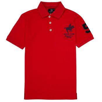 Oblečenie Chlapci Polokošele s krátkym rukávom Geographical Norway KAMPAI Červená