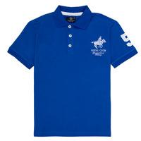 Oblečenie Chlapci Polokošele s krátkym rukávom Geographical Norway KAMPAI Modrá