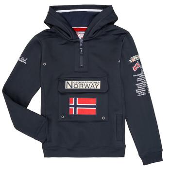 Oblečenie Chlapci Mikiny Geographical Norway GYMCLASS Námornícka modrá