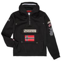 Oblečenie Chlapci Mikiny Geographical Norway GYMCLASS Čierna