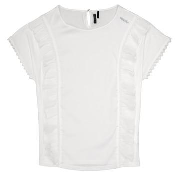 Oblečenie Dievčatá Blúzky Ikks CHLOE Biela