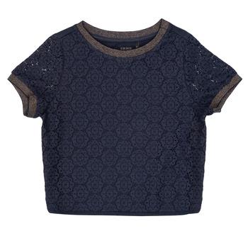 Oblečenie Dievčatá Blúzky Ikks CLOTHILDE Námornícka modrá