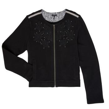 Oblečenie Dievčatá Cardigany Ikks LOUKAS Čierna