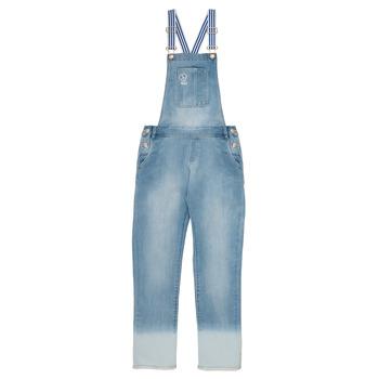 Oblečenie Dievčatá Módne overaly Ikks PERRINE Modrá