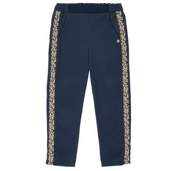 Oblečenie Dievčatá Padavé nohavice Ikks NATHAN Námornícka modrá
