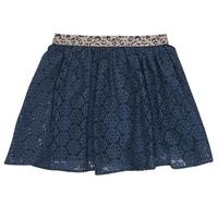 Oblečenie Dievčatá Sukňa Ikks JOEL Námornícka modrá