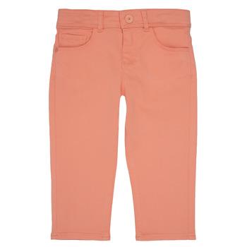 Oblečenie Dievčatá Nohavice päťvreckové Ikks CARLOTTA Oranžová