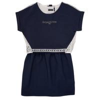Oblečenie Dievčatá Krátke šaty Ikks NIEL Námornícka modrá