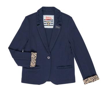Oblečenie Dievčatá Saká a blejzre Ikks NIKO Námornícka modrá
