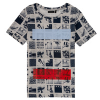 Oblečenie Chlapci Tričká s krátkym rukávom Ikks JULIEN Béžová