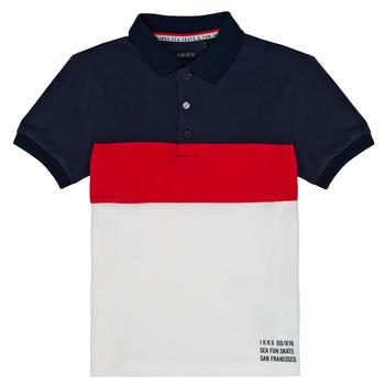 Oblečenie Chlapci Polokošele s krátkym rukávom Ikks LORIE Biela
