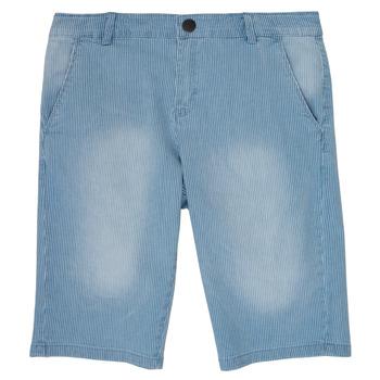 Oblečenie Chlapci Šortky a bermudy Ikks NOCTALIE Modrá