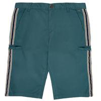 Oblečenie Chlapci Šortky a bermudy Ikks MANUEL Modrá / Zelená