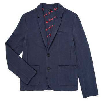 Oblečenie Chlapci Saká a blejzre Ikks NARIA Námornícka modrá