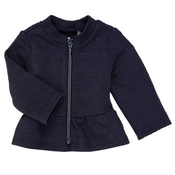 Oblečenie Dievčatá Cardigany Ikks ANE Námornícka modrá