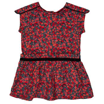 Oblečenie Dievčatá Krátke šaty Ikks MAGGIE Šedá / Červená