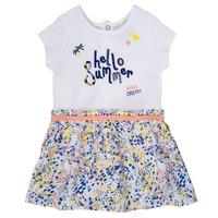 Oblečenie Dievčatá Krátke šaty Ikks NIKLO Biela