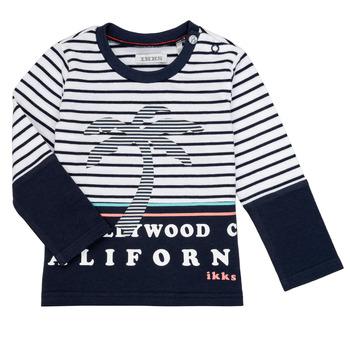 Oblečenie Chlapci Tričká s dlhým rukávom Ikks LAURA Viacfarebná