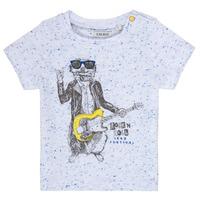 Oblečenie Chlapci Tričká s krátkym rukávom Ikks MARIO Biela