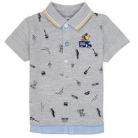 Oblečenie Chlapci Polokošele s krátkym rukávom Ikks MAELYS Šedá