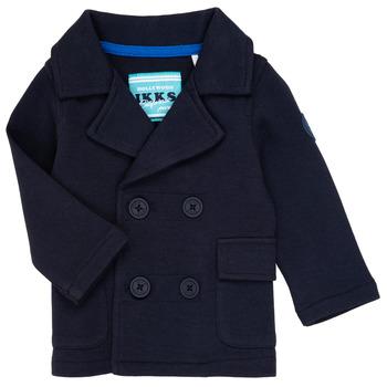 Oblečenie Chlapci Cardigany Ikks CYLIA Námornícka modrá