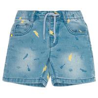 Oblečenie Chlapci Šortky a bermudy Ikks PONERMO Modrá