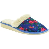 Topánky Ženy Papuče John-C Dámske modré papuče ELIA 2 modrá
