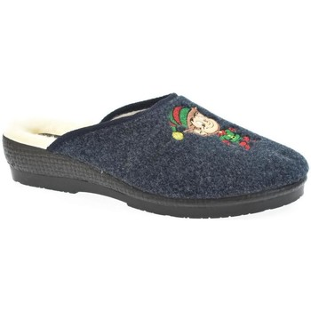 Topánky Ženy Papuče Mjartan Dámske papuče  LIVA 3 tmavomodrá