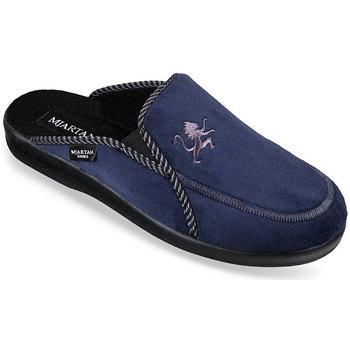 Topánky Muži Papuče Mjartan Pánske papuče  DARIUS 4 tmavomodrá