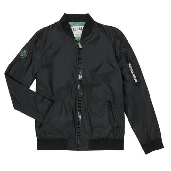 Oblečenie Chlapci Bundy  Kaporal ELMO Čierna