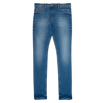 Oblečenie Chlapci Rovné Rifle  Kaporal JEGO Modrá