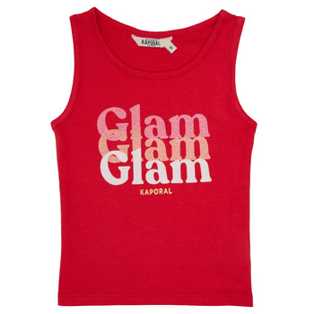 Oblečenie Dievčatá Tielka a tričká bez rukávov Kaporal JUIN Červená