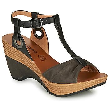 Topánky Ženy Sandále Chattawak JENNY Čierna