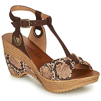 Topánky Ženy Sandále Chattawak JENNY Hadí vzor