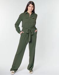 Oblečenie Ženy Módne overaly MICHAEL Michael Kors ROLL SLV SAFARI JMPST Kaki