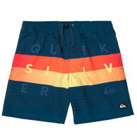 Oblečenie Chlapci Plavky  Quiksilver WORD BLOCK VOLLEY YOUTH Modrá