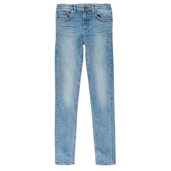 Oblečenie Chlapci Rifle Slim  Teddy Smith FLASH Modrá