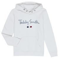 Oblečenie Chlapci Mikiny Teddy Smith SEVEN Biela