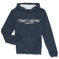 Oblečenie Chlapci Mikiny Teddy Smith SICLASS Modrá