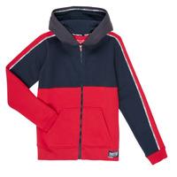 Oblečenie Chlapci Mikiny Teddy Smith AMY Červená / Námornícka modrá