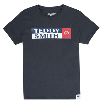 Oblečenie Chlapci Tričká s krátkym rukávom Teddy Smith TOZO Námornícka modrá